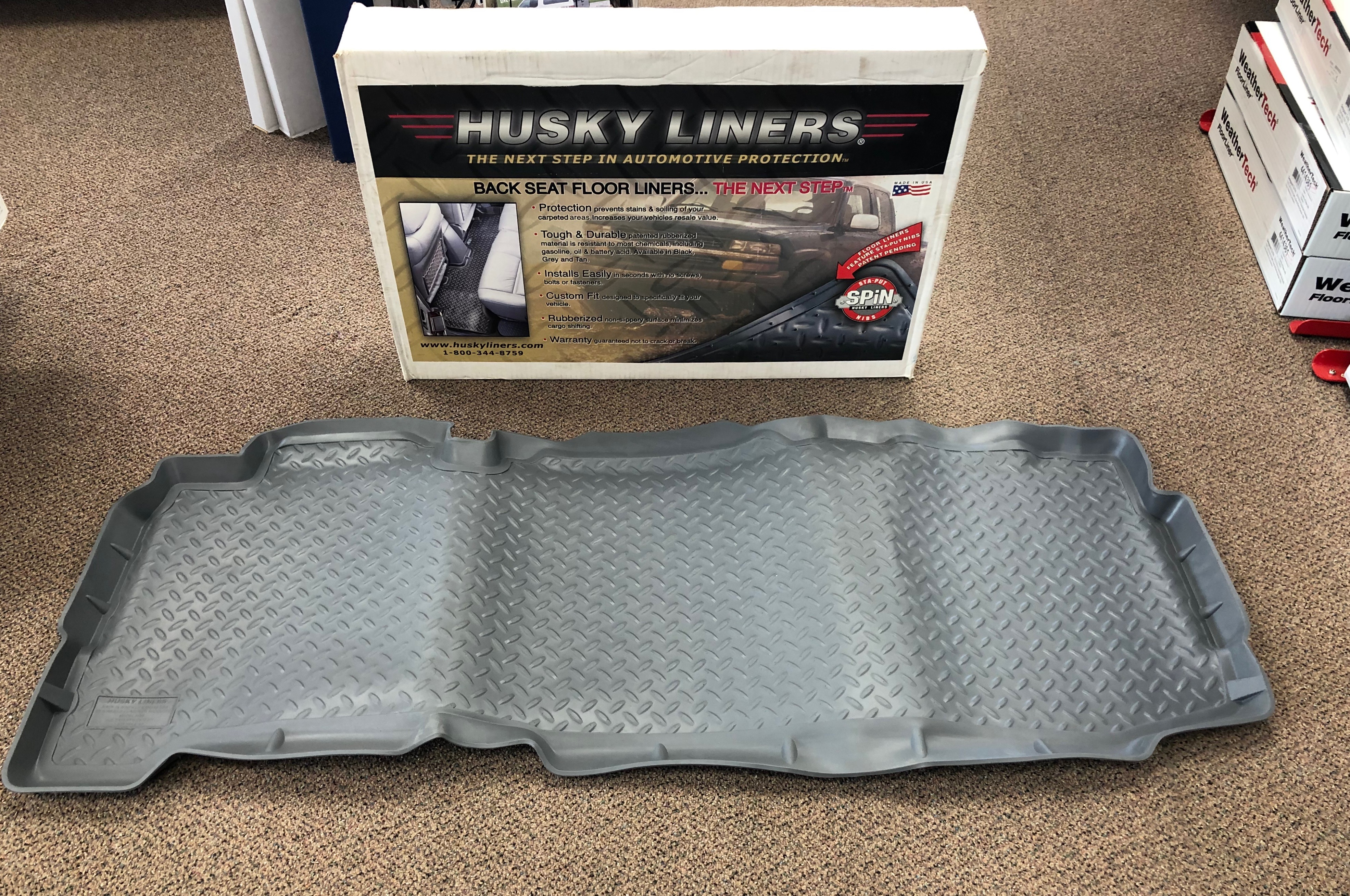 Husky Liners-Rear Image